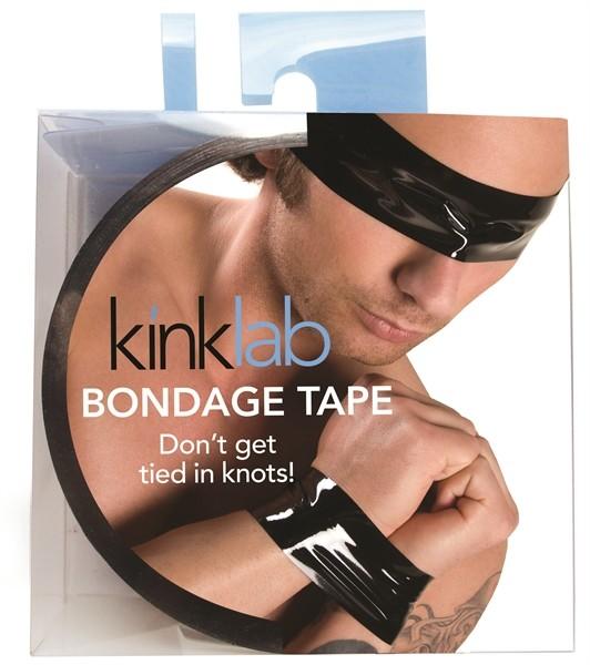 KinkLab Bondage Tape schwarz