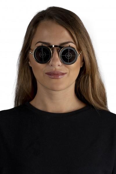 Steampunksonnenbrille 'Target on Sight'