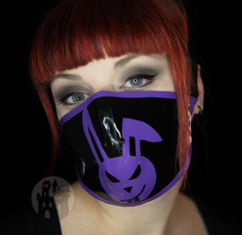 Latex Halbmaske bad bunny - Fetischshop - Gothicshop Cybermasken