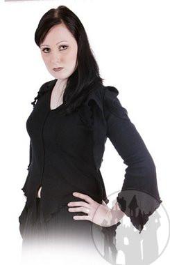 Edle Elfenbluse mit Fransen, weitere Fantasy Kleidung im Fantasy Shop
