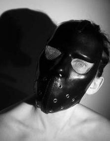Leder Maske - Cyber Sklavenmaske