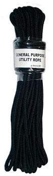 Bondage Seil schwarz