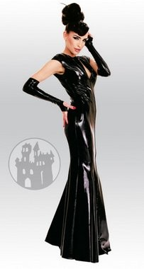 Latex Abendkleid aus Latex-Hybridmaterial