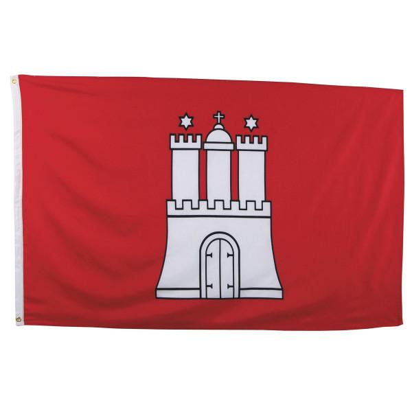 Fahne Hamburg