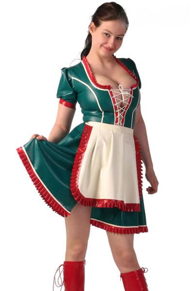 Latex Kleid - Bavaria - Dirndl