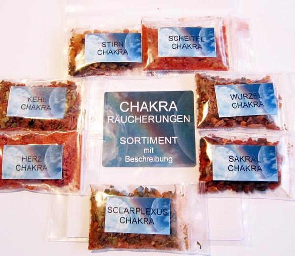 Chakra-Räucherungen Set