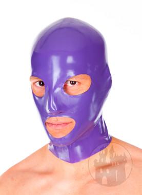 Latexmaske Mund und Augen offen im Latexmasken Shop