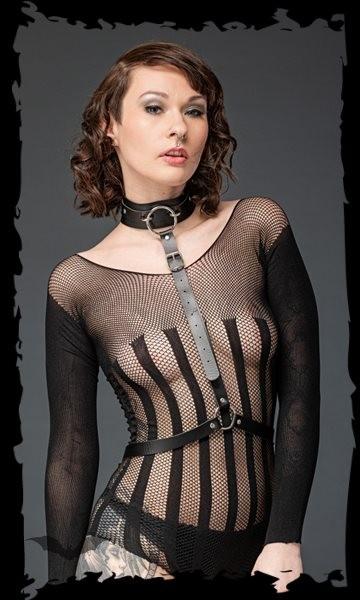 Harness mit Halsband Frau Vorne