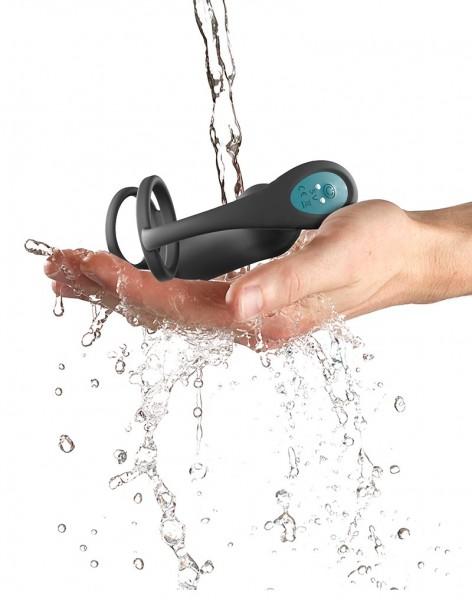 Penisring mit Prostata-Stimulator Wasserfest