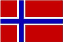 Flagge 'Norwegen'