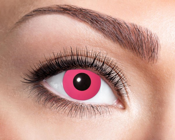 Kontaktlinsen 'Flash Pink'