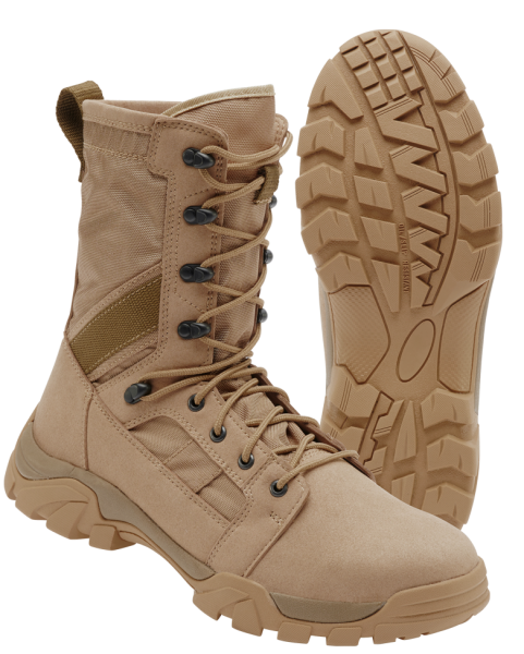 Defense Stiefel camel