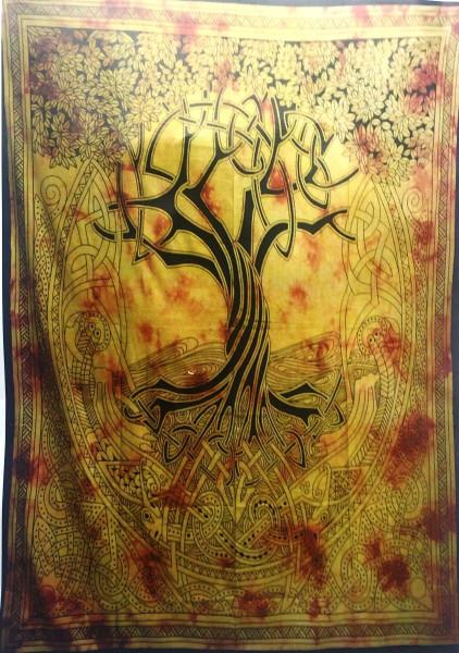 Tuch Lebensbaum Batik