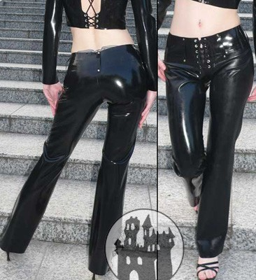 Latex Jeans/Hipster - Latexhüftjeans