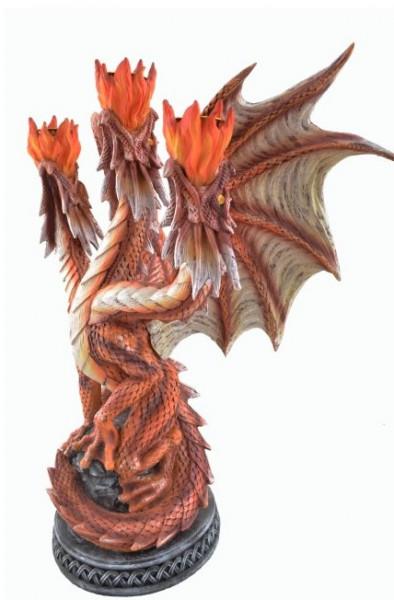 3armiger Kerzenständer Dragonfire