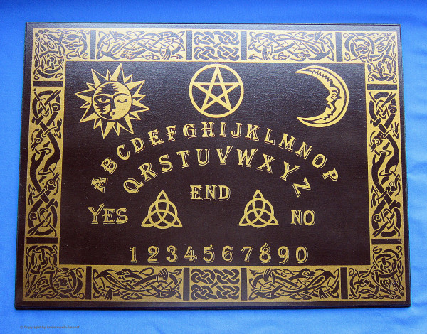 Witchboard keltisch schwarz