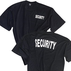 'Security' T-Shirt