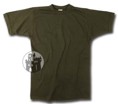 BW Unterhemd - oliv - Übergrößen