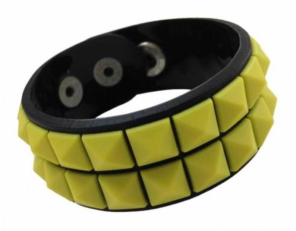Armband mit zwei Reihen Nieten