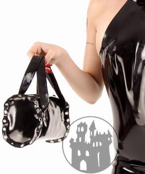 Latex Tasche - länglich
