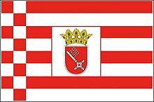 Flagge 'Bremen'