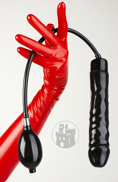 Latex Inflatable dildo