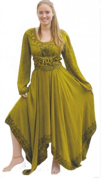Mittelalter Kleid vorne