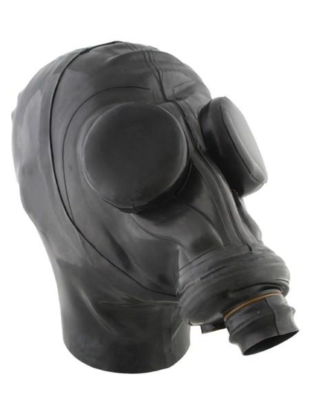 Mister B - Russische Gasmaske mit Haube und Augenkappen