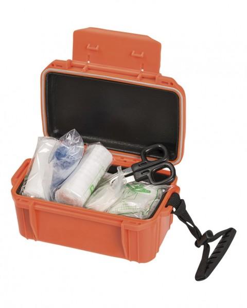 Erste-Hilfe-Set Wasserdicht orange