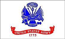 Flagge 'U.S. Army'