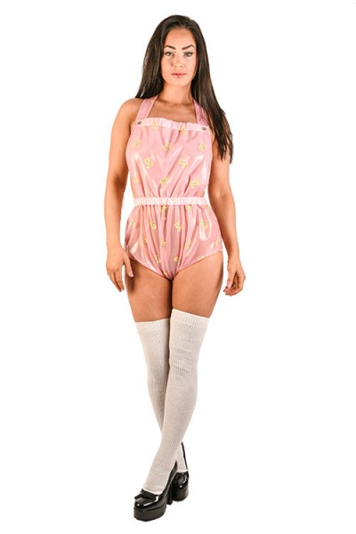 PVC 'Bib and Pants' Set