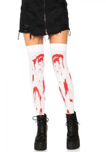 Kniestrümpfe 'Bloody Zombie'