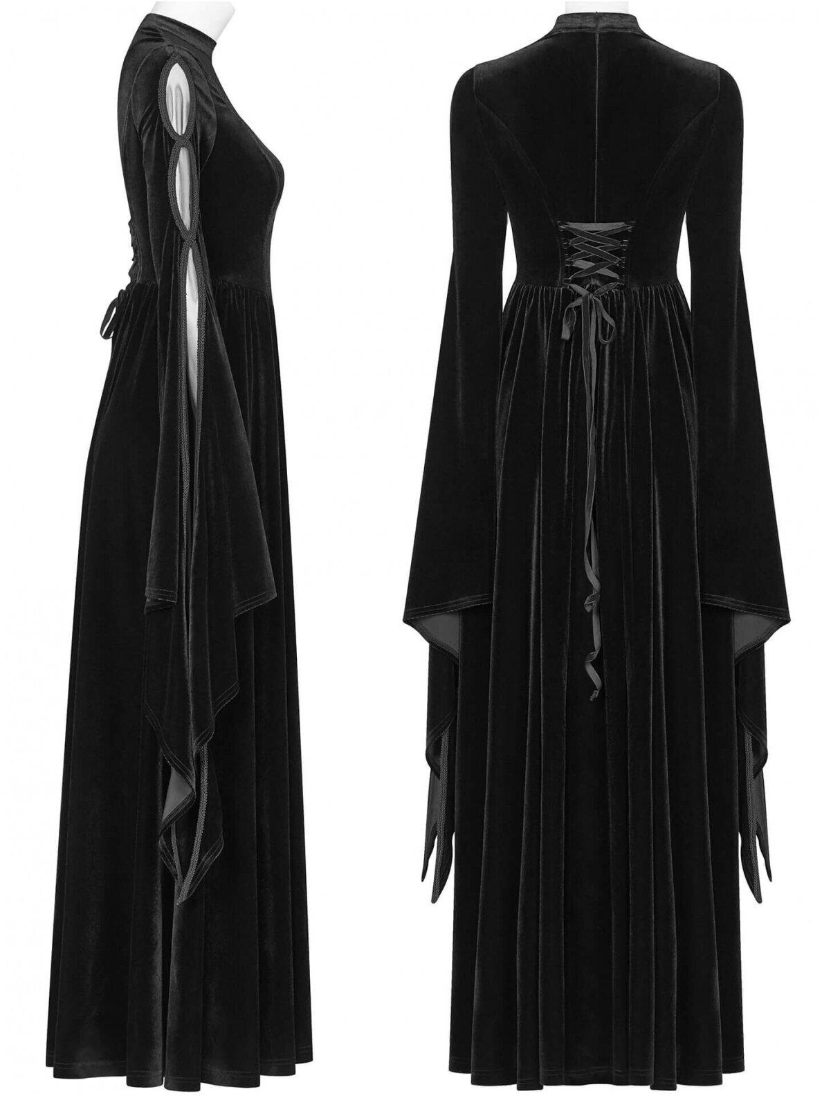 Schwarzes Prinzessinen Kleid | Kleider - lang ...