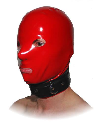 Latex Maske - Collar