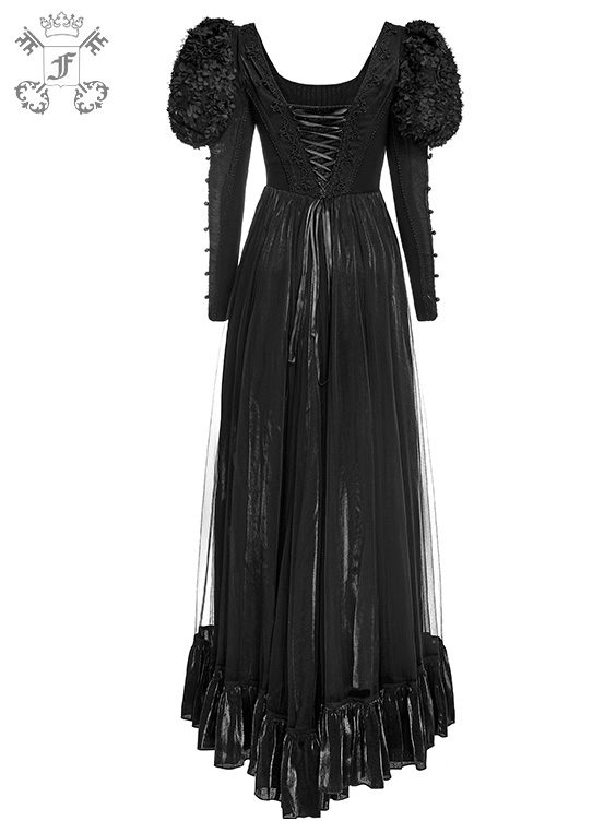 Schwarzes Ballkleid | Kleider - lang | Gothickleidung ...