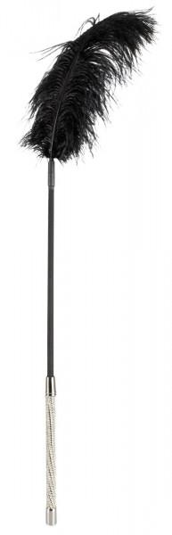 Strass Federstab mit strassbesetztem Griff