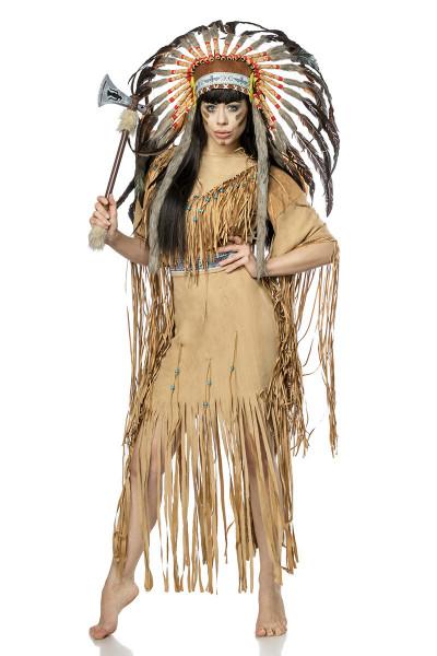 Indianerin - Kostüm -Vorderseite