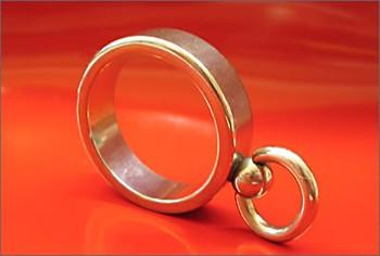 Ring der O - schmal - 925er Silber