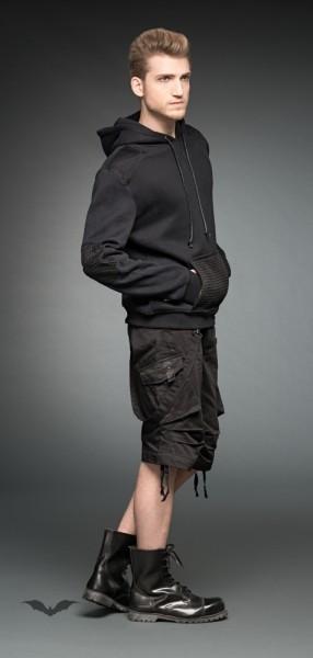 Hoodie mit großer Fronttasche