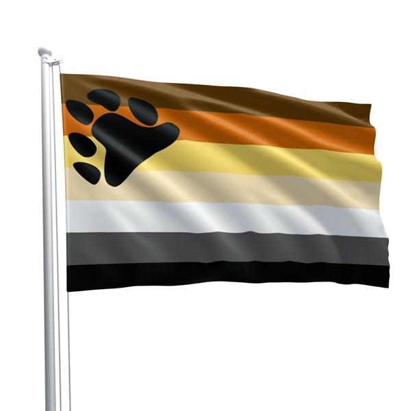 Bear Pride Flagge