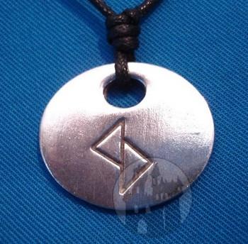 Binderunen Amulett 'Glück'
