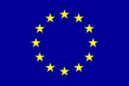 Fähnchen mit Holzstab 'Europa'