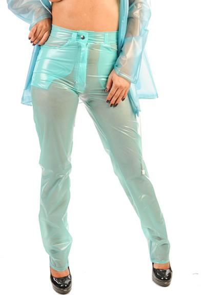 PVC Damen Jeans vorne