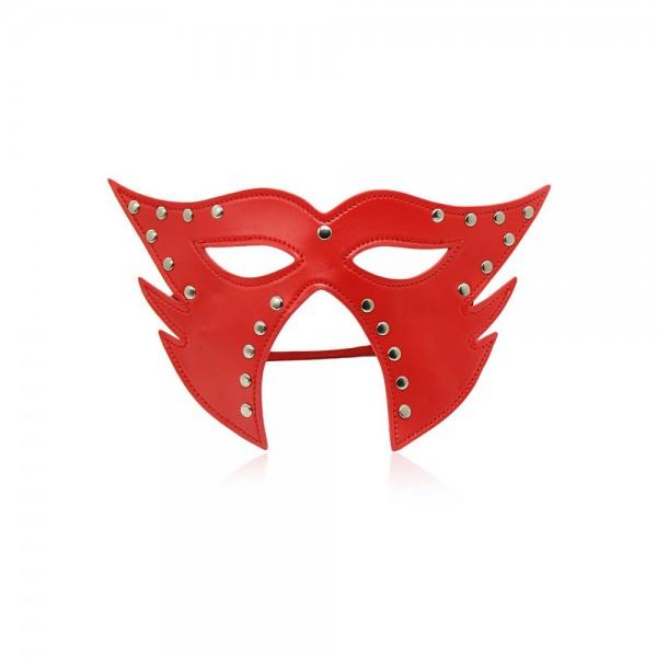 Katzen-Maske mit offenem Mund
