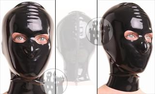 Latex Maske - Augen offen