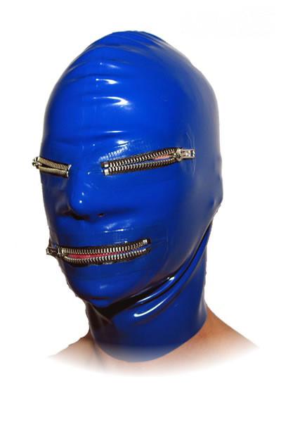 Latex Maske - Zipper
