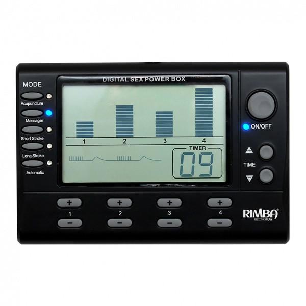 4 Kanal Elektro Sex Power Box LCD Display
