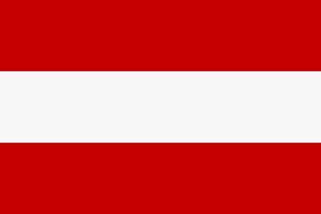 Fähnchen mit Holzstab 'Österreich'