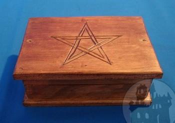 Tarotkästchen Pentagramm