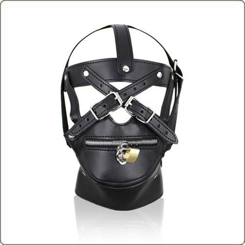 PVC Kopfharness mit Reißverschluss